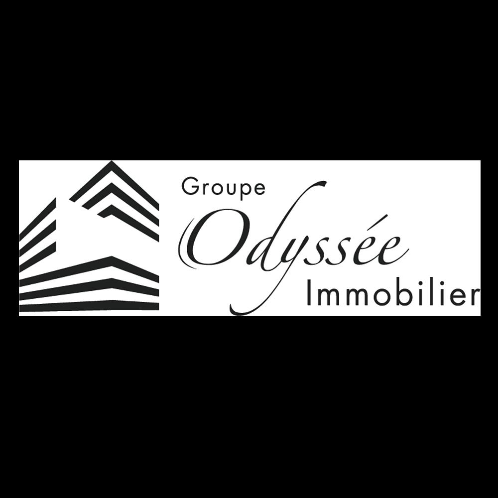 Logo PNG détouré promoteur Odyssée immobilier
